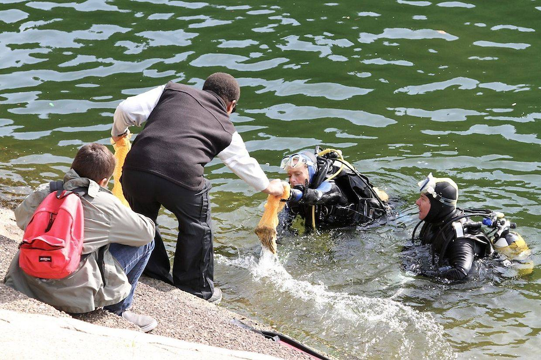 Nettoyage du lac de la Haute-Sûre – 19/05/2019